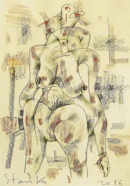 Act-VIII(homage to cubism) -