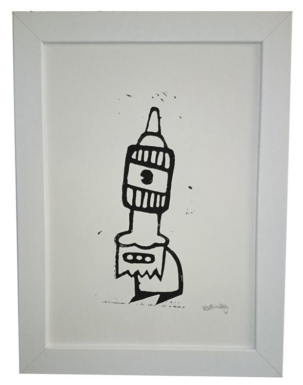 Cyclops Linoprint - Image 0
