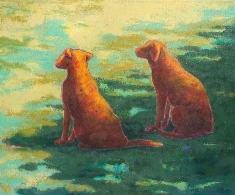 """""""Two Red Dogs"""" - Image 0"""