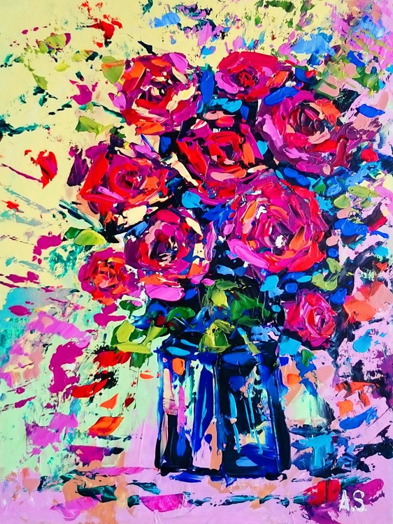 Bouquet of roses - Image 0