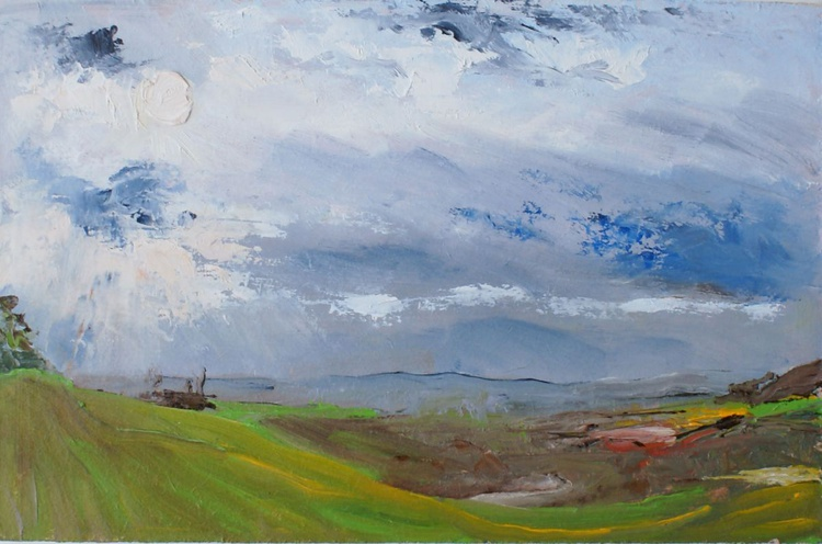 Medway Valley - Winter Sky - Image 0