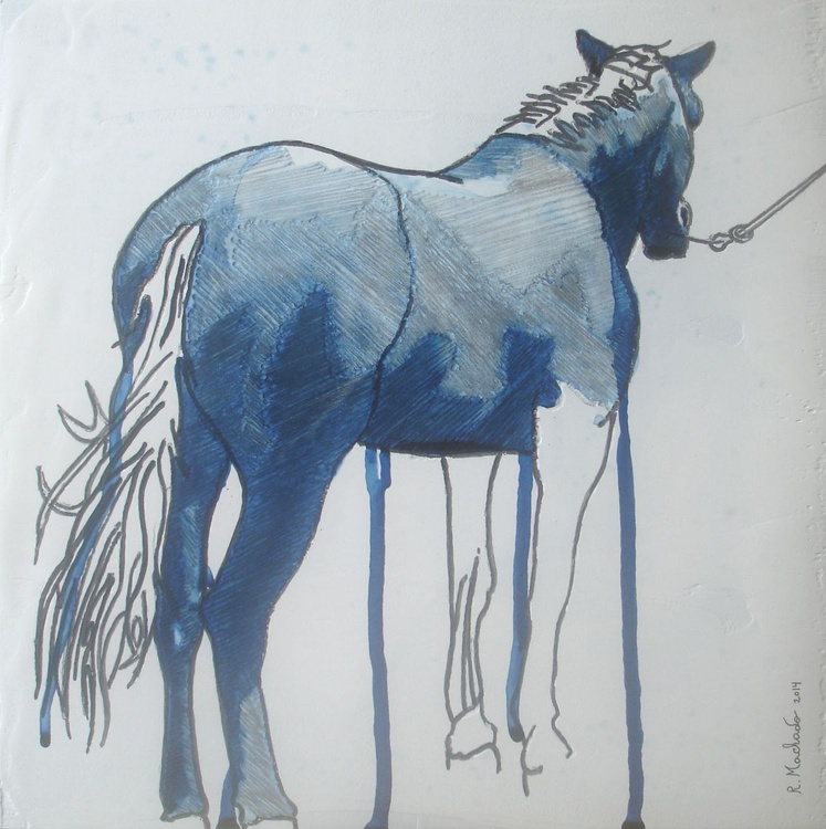 Horse Carved XXVIII - Image 0