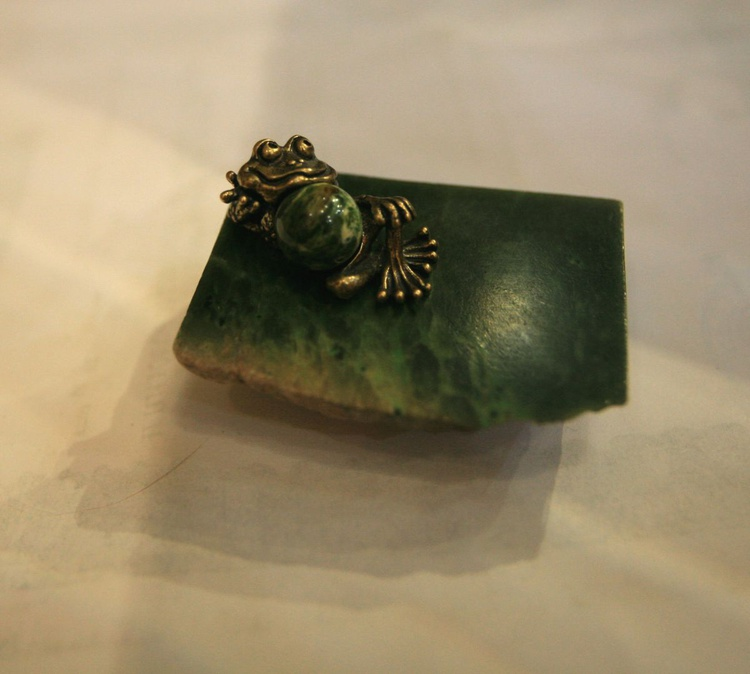 """Bronze Frog - """"The  Dreamer of the  green dreams"""" - Image 0"""