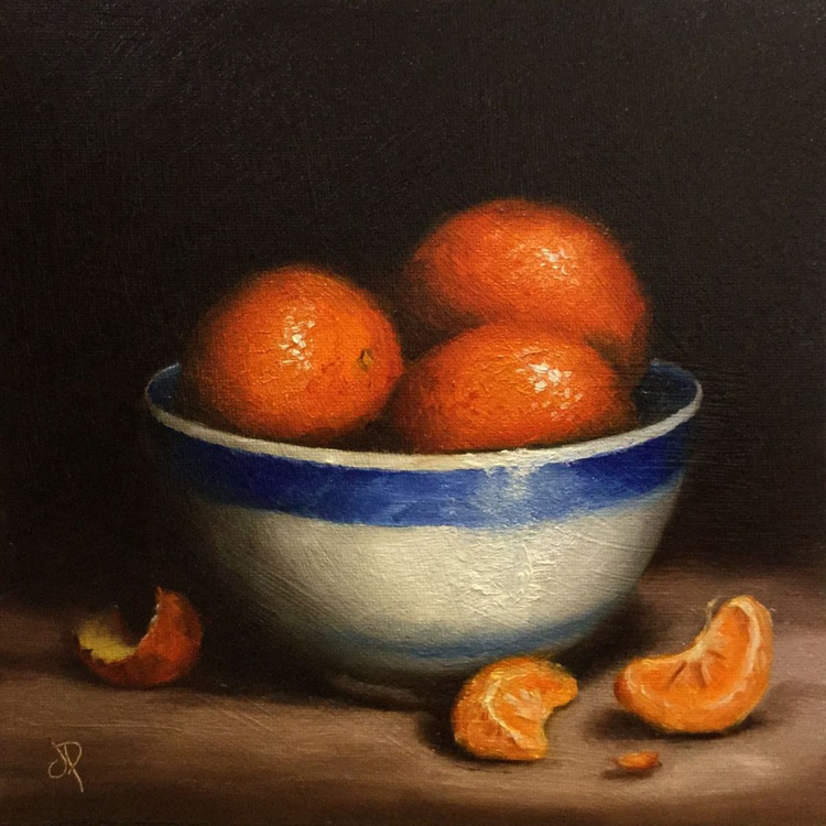 Bowl of Clementines - Image 0