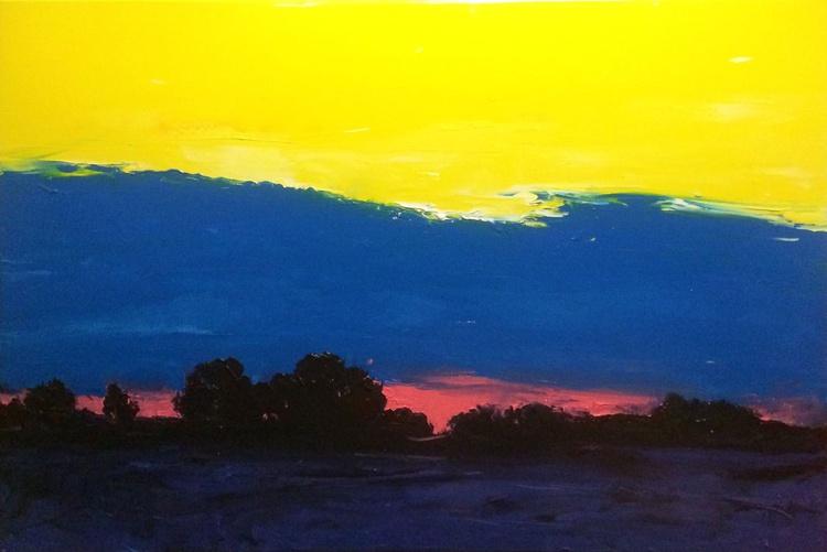 Bright twilight (120*80) - Image 0