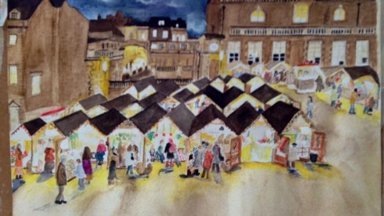 Bath Christmas Market - Image 0