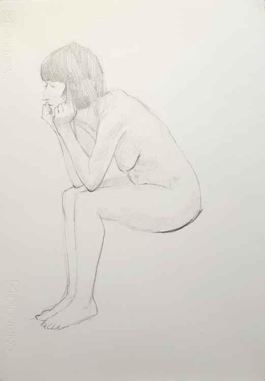 Looking Sad (Life Drawing Study) -