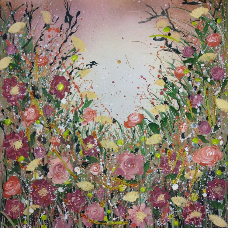 Peonies and apricot roses - Image 0