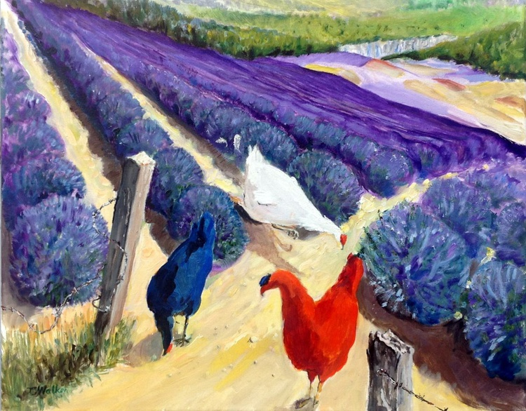 Three French Hens - Image 0
