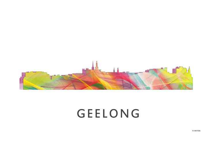 Geelong, Victoria Australia Skyline WB1
