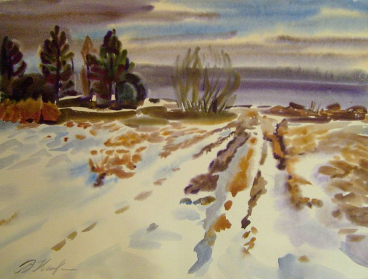 winter, 80x60 cm - Image 0