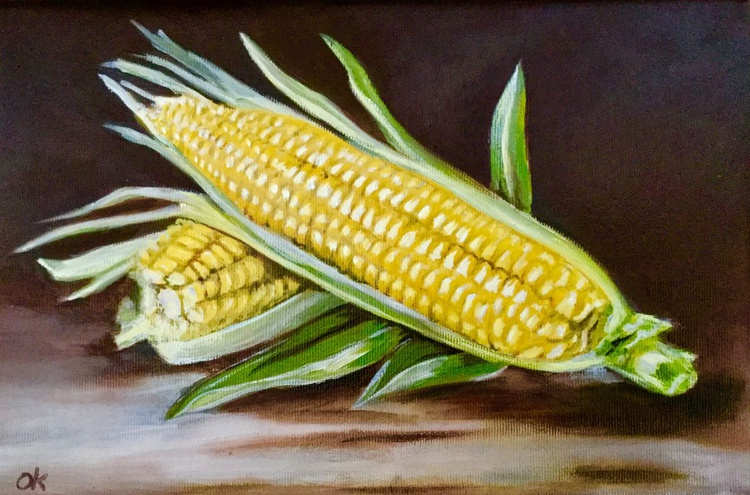 The sweet Corn #perfect gift #classical still life - Image 0