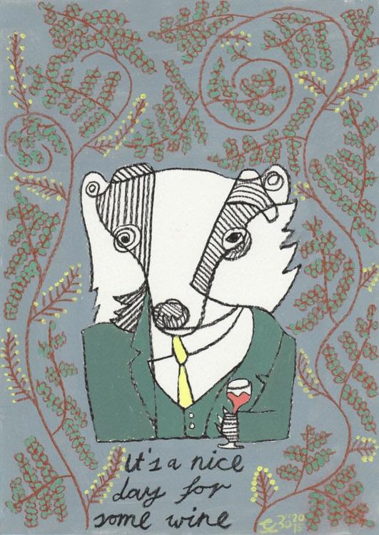Badger Wine - Image 0