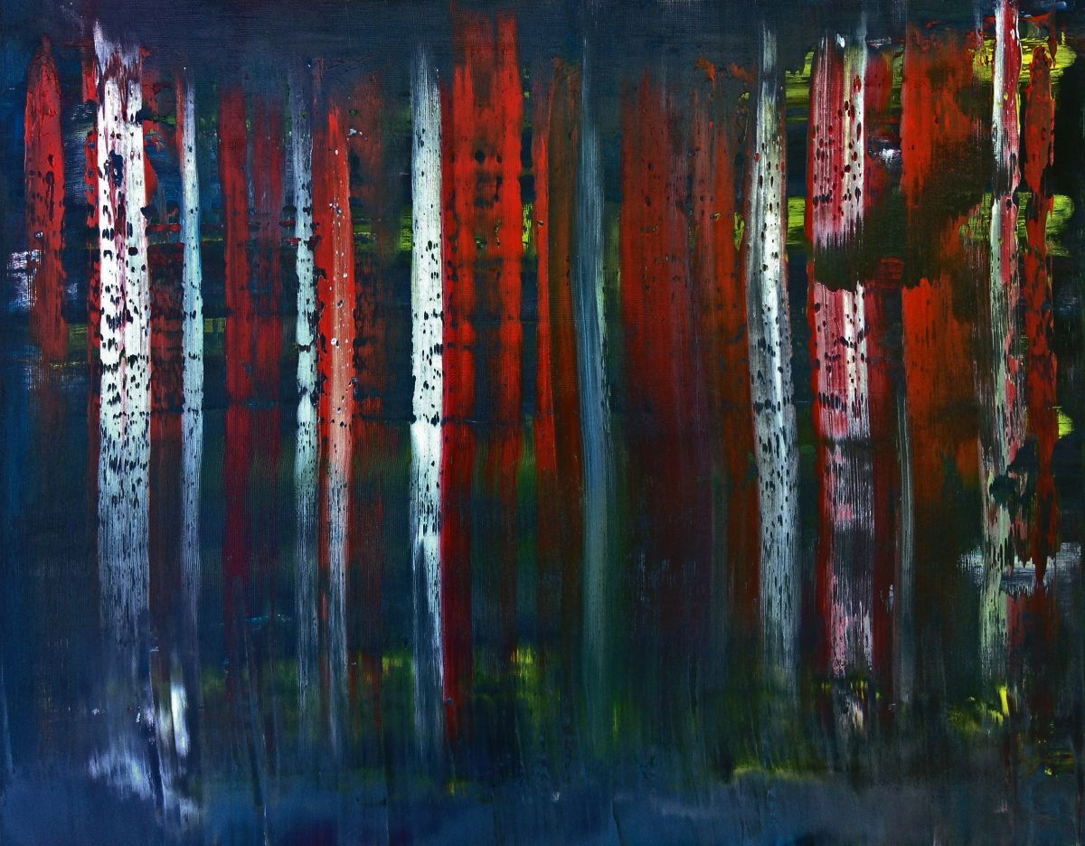 Mystical Forest 2016 Oil Painting By Eric Barnes Artfinder