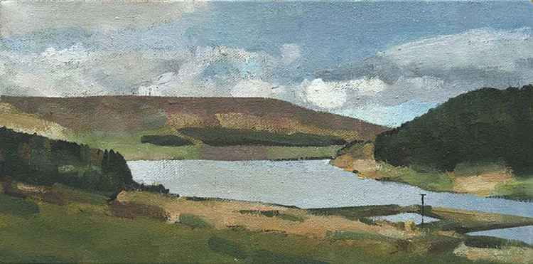 Dovestone Reservoir No 2, Saddleworth -