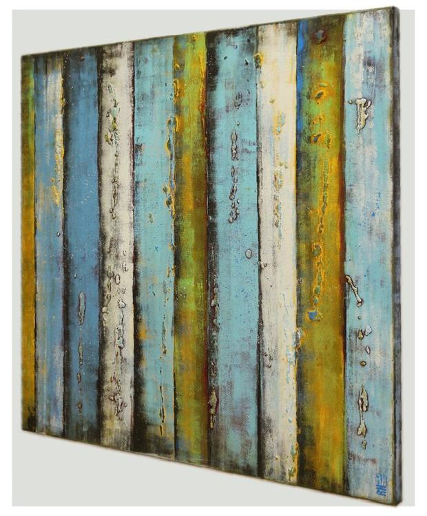 Supersized-artwork - Blue Panels XL - B40- when size matters - Image 0