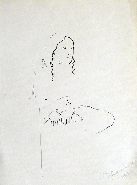 Woman 5, 24x32 cm - Image 0