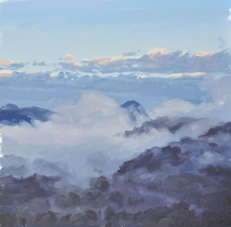 September 14, Roches de Mariol, morning mists - Image 0