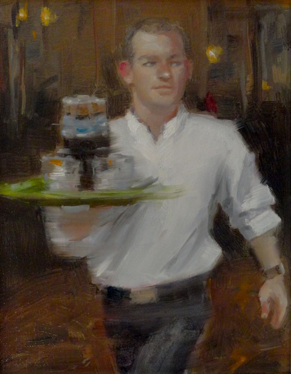 The Waiter, Toulouse, France. - Image 0