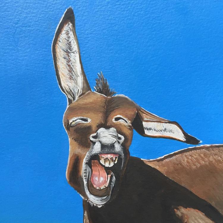 Amused donkey - Image 0
