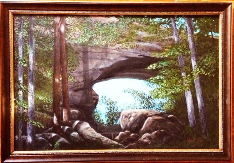 (Reduced) - Natural Bridge in Slade Kentucky - Image 0