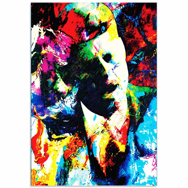 Mark Lewis 'John F Kennedy JFK' Limited Edition Pop Art Print on Acrylic - Image 0