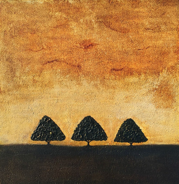 Alone in Serengeti - SOLD - Image 0