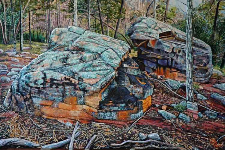 Weddin Mountains Boulders 1