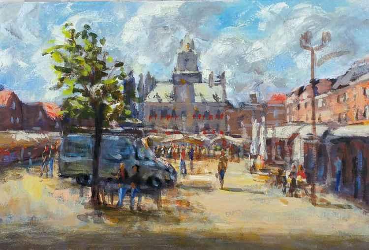 Market in Delft