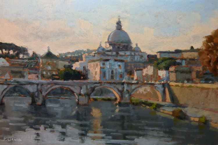 The Tiber at  Rome -