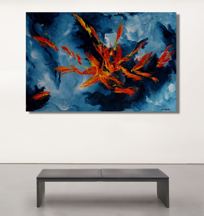 Freedom From Concern   (120 x 80 cm) - Image 0