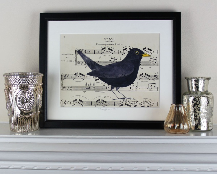 Songbird No 16 - framed - Image 0