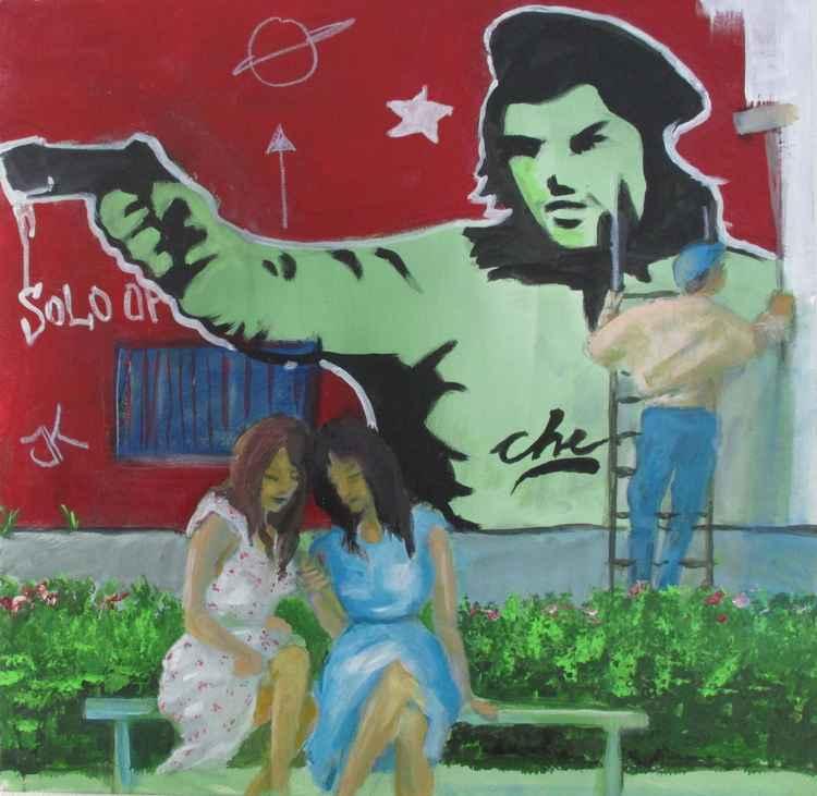 Italian Graffiti 5, Modern communication - Indifference II