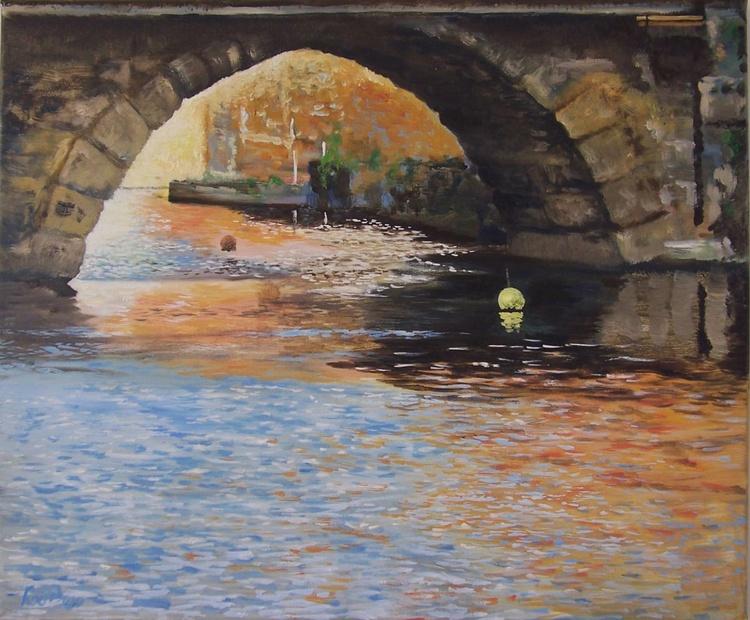 Bristol Bridge and dancing water - Image 0