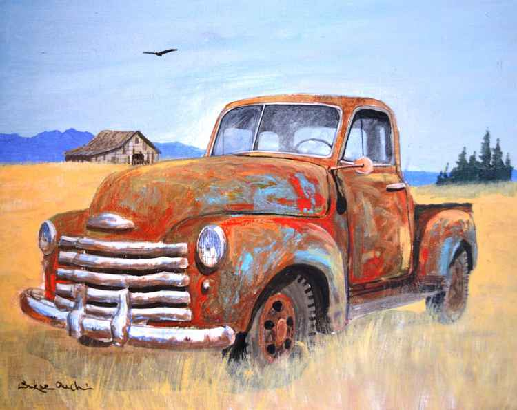 Retired Old Truck -