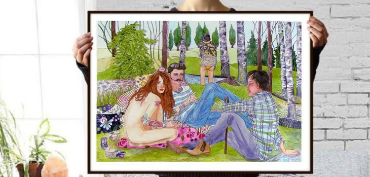 Déjeuner sur l'herbe - Image 0