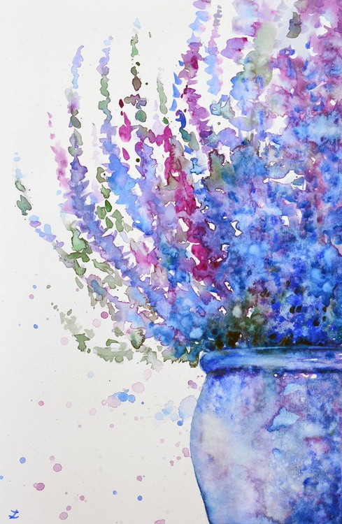 Purple Heather in the Pot - Image 0