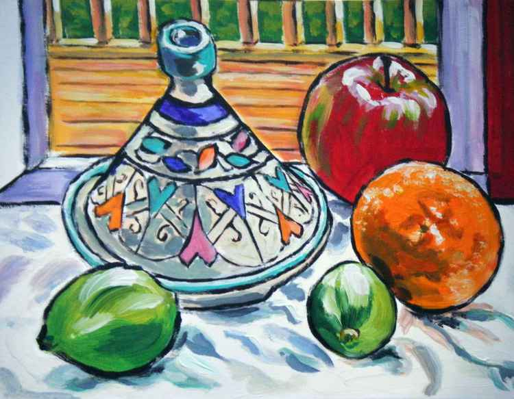 Tagine with limes