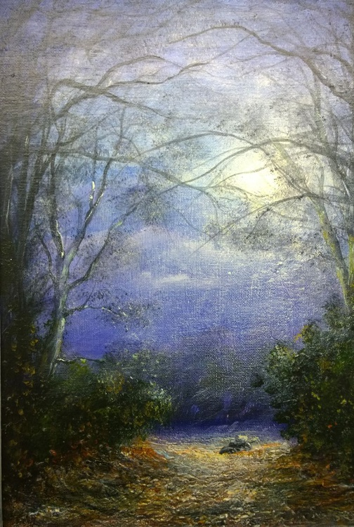 """""""BADGERS IN THE MOONLIGHT"""" - Image 0"""
