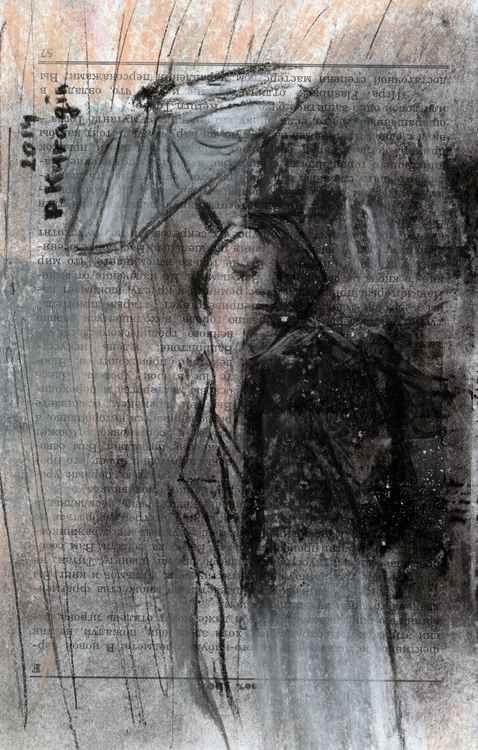 The rain -