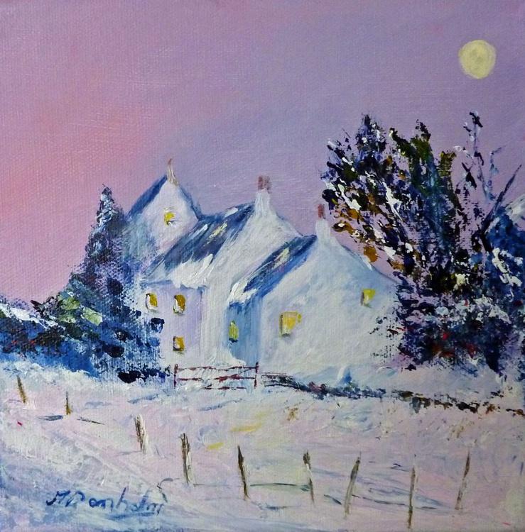 A December Evening - Image 0