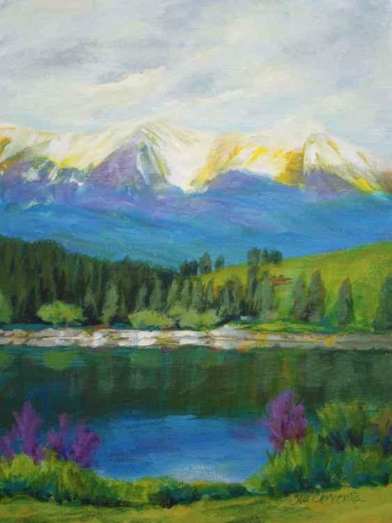 Peaceful Mountain Lake