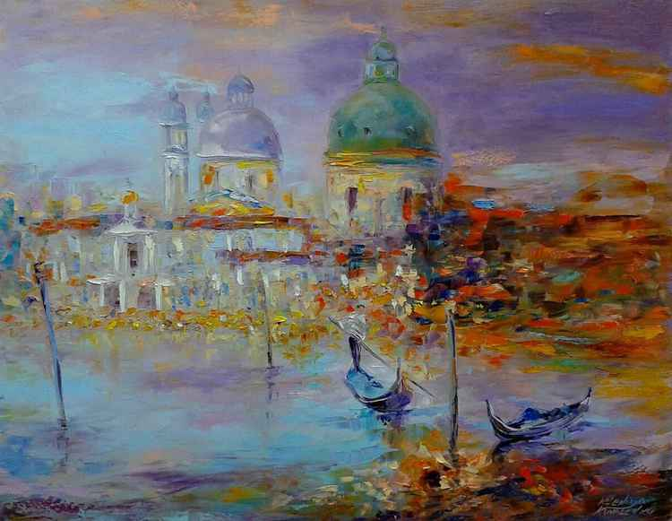 painting * Venice - the keeper of the fairy tales* 90x 70 cm canvas -