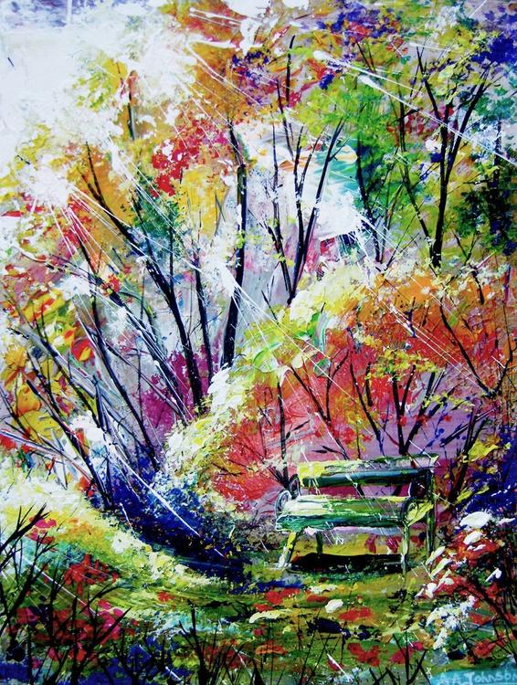 "Autumn Art - ""Rest A While"" - Image 0"