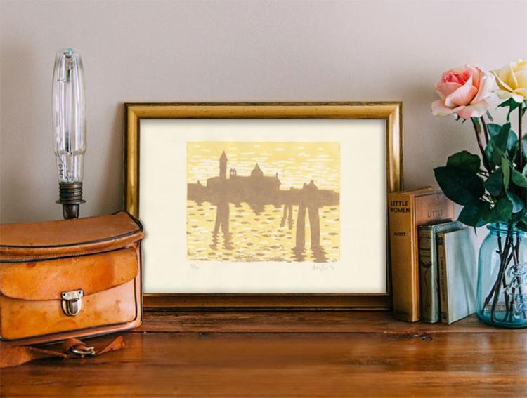 Venice skyline yellow - Image 0
