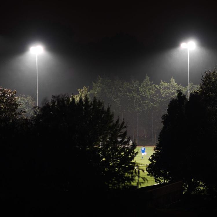 Lone Footballer (40x40cm) - Image 0