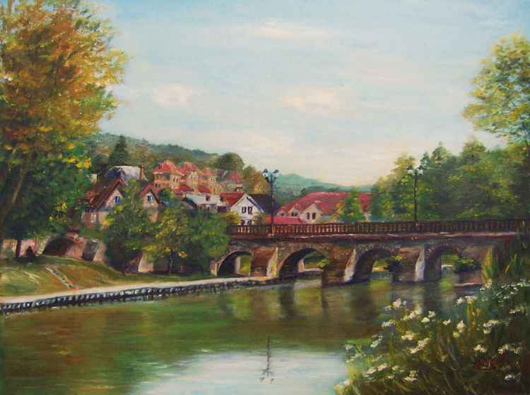 Old bridge of Meulan -