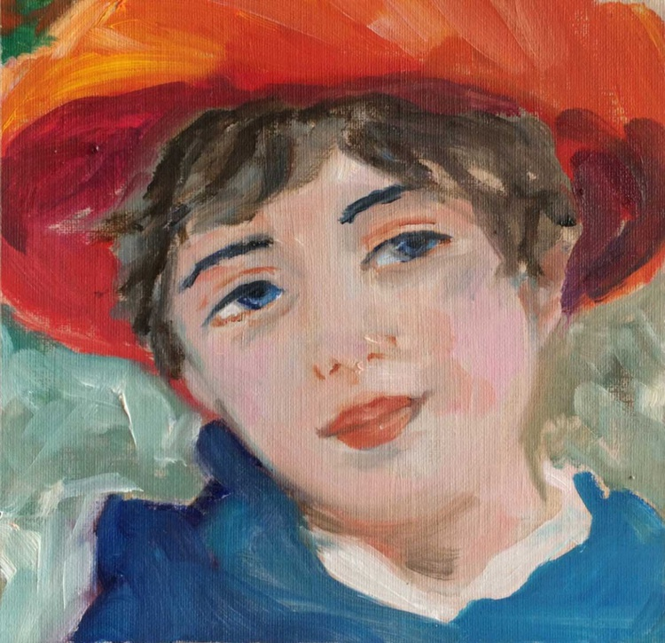 After Renoir - On the terrace - Image 0