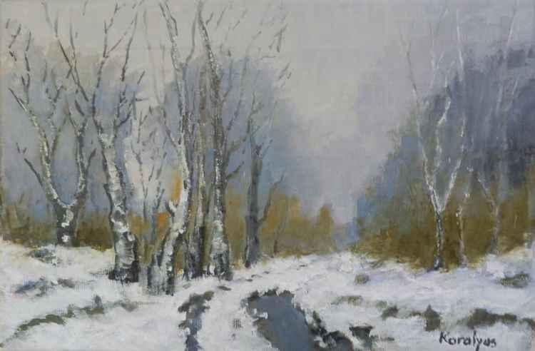 Winter landscape -