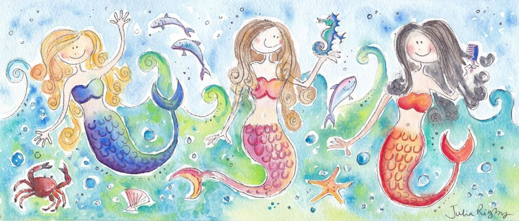Three Mermaids - Image 0